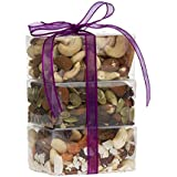 The Personal Trail Mix Tower, Fruit and Nuts Gift, Perfect as a Thank You Gift or for Any Occasion, Small-Batch Kettle Roasted For Superior Freshness, Nuts Never Tasted This Good