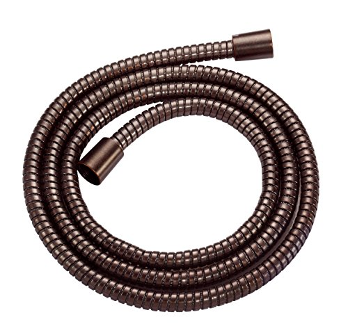 Danze D469030BR M-Flex Shower Hose with Brass Conical Nuts, 72-Inch, Tumbled (Bronze Handshower Hose)