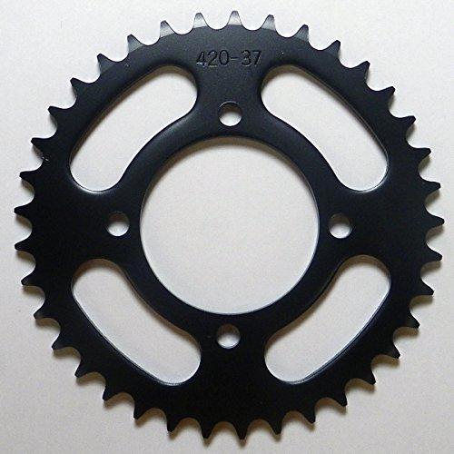 Yamaha Steel Rear Sprocket Moto-X TT-R 50 2006-2015/ BW 80 1990-2009/ TT 90 2000/ TT-R 90 2001-2007 37 Teeth RSY-018-37 OEM #: 1P6-F5437-10-00, 1P6-F5437-11-00