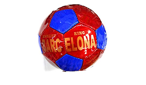 Mambo Balon Futbol Barcelona Rojo y Azul Talla 5: Amazon.es ...