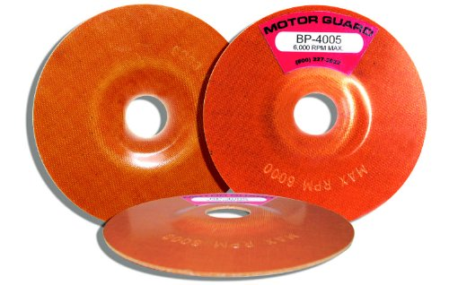 Motor Guard BP-4005 5-Inch by 7/8-Inch Backing Plate (2-Pack) (Phenolic Backing)