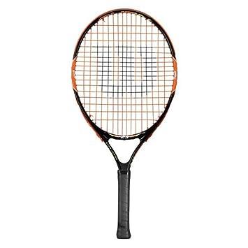 Wilson Raqueta de tenis para niños, Medida 5-6 años, Para juegos en todas las áreas, Burn 21, Negro/Naranja: Amazon.es: Deportes y aire libre