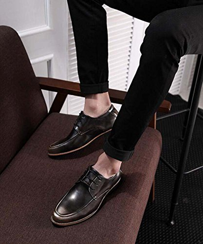 Color Y Acentuada Gray Boda Casuales De Verano Degradado Coreana Tendencia Primavera Zapatos Hombre Myi wWPAqpTP