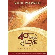 40 Days Of Love by Rick Warren (December 07,2009)