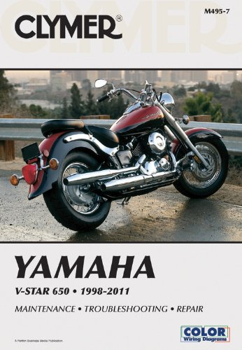 Yamaha V-Star 650 1998-2011 (Clymer Motorcycle Repair)