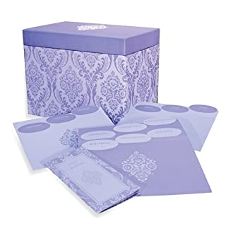 Greeting cards by a store my furnitureore designer greetings 711 00005 0000 deluxe card organizer kit in decorative designer damask m4hsunfo