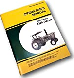 John Deere 4320 Tractor Owners Operators Manual Maintenance Operations Controls