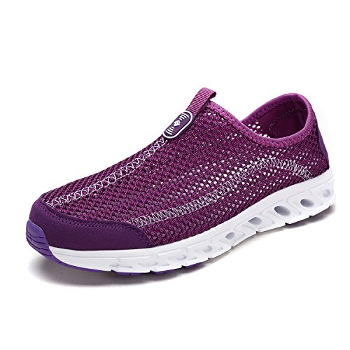 DREAM PAIRS Women's 160712-W Lilac Athletic Slip On Water Shoes Size 9 M US