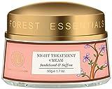 Facial Nerves Lips - Forest Essentials Night Treatment Cream - Sandalwood & Saffron 50g