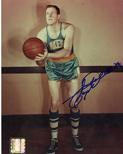 062d7e041 Signed Clyde Lovellette Photo - Los Angeles Lakers 8x10 W Coa ...