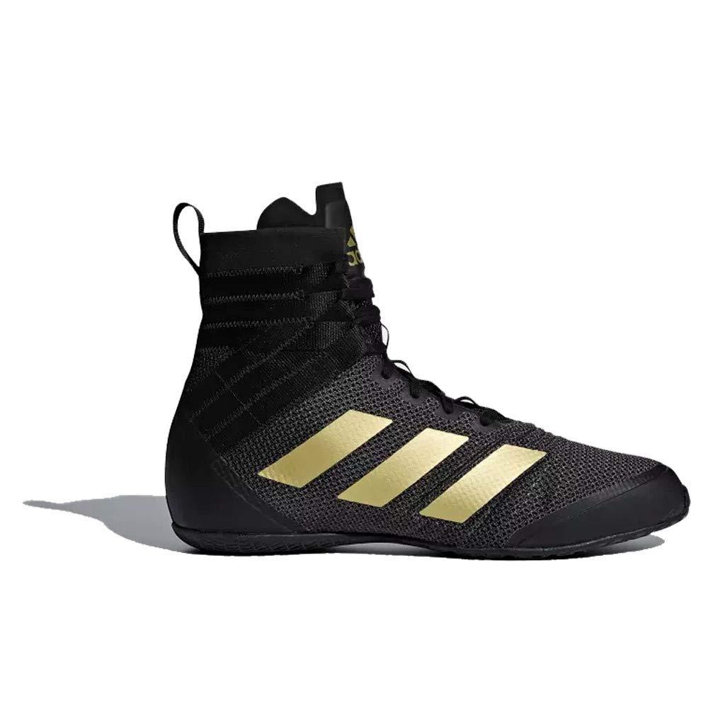 Noir (noir  or noir  or) 45 1 3 EU adidas Speedex 18, Chaussures de Boxe Homme