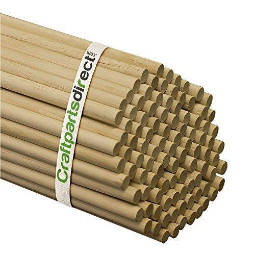 Wooden Dowel Rods - 7/16