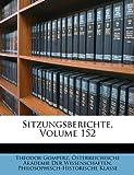 Sitzungsberichte, Theodor Gomperz, 1147573573