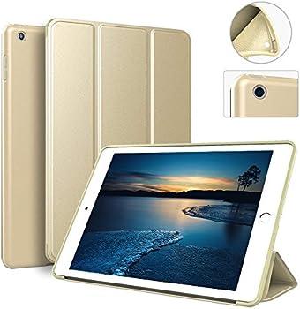 zoyu iPad 9.7 Ultra Slim Lightweight Smart Trifold Stand Cover