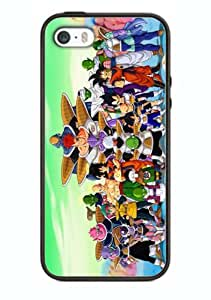 Case Dragonball Z Cartoon Hit Cover for Iphone 4/4s DB12 Border Rubber Silicone Case Black@pattayamart
