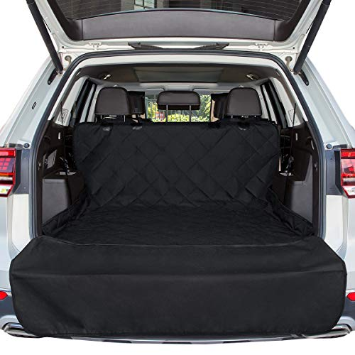 ANKII Dog Cargo Cover Liner for SUV Truck – 52 78 Waterproof Machine Washable Easy Install Bumper Flap Protection, Heavy-Duty, Dog Seat Cover Mat Suit for Vans Car Seat