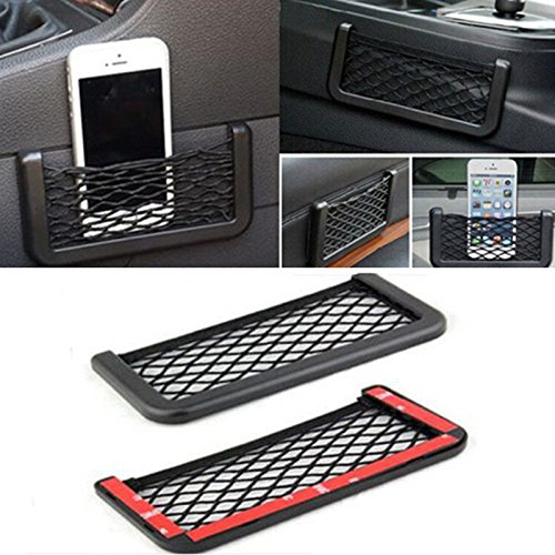 MAZIMARK--1PCS Auto Car Vehicle Storage Mesh Resilient String Bag Holder Pocket - Charlotte Nc In Stores Outlet