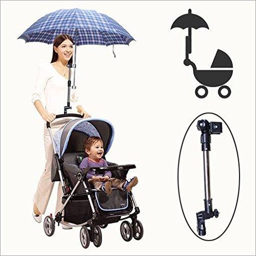 fulla2116regolabile porta ombrello parasole titolare per Baby passeggino bicicletta