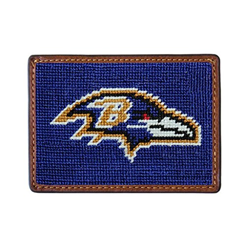 - Baltimore Ravens Needlepoint Credit Card Wallet by Smathers & Branson