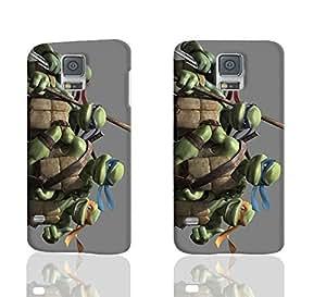 TMNT Teenage Mutant Ninja Turtles 3D Rough Case Skin, fashion design image custom , durable hard 3D case cover for Samsung Galaxy S5 i9600 Regular, Case New Design By Codystore wangjiang maoyi