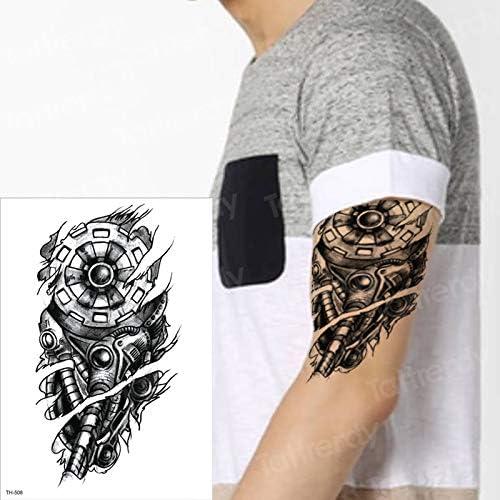 Tatuajes mecánicos Tatuajes temporales máquina Impermeable Tatoo ...