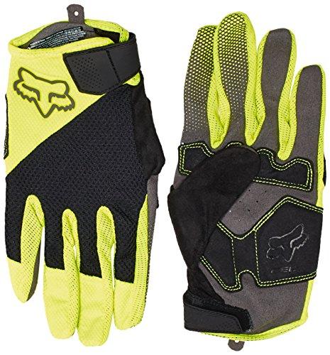 Fox Racing Reflex Gel Gloves - Men's Flo Yellow, (Reflex Full Finger Gel)