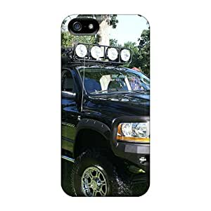 LastMemory Case Cover Iphone 5/5s Protective Case Dodge 6x6 Mega Cab