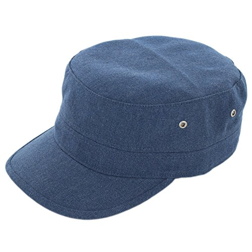 Duolaimi Army Cap for Unisex Adult (Blue)