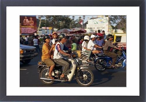 Framed Print of Transport, Jogjakarta