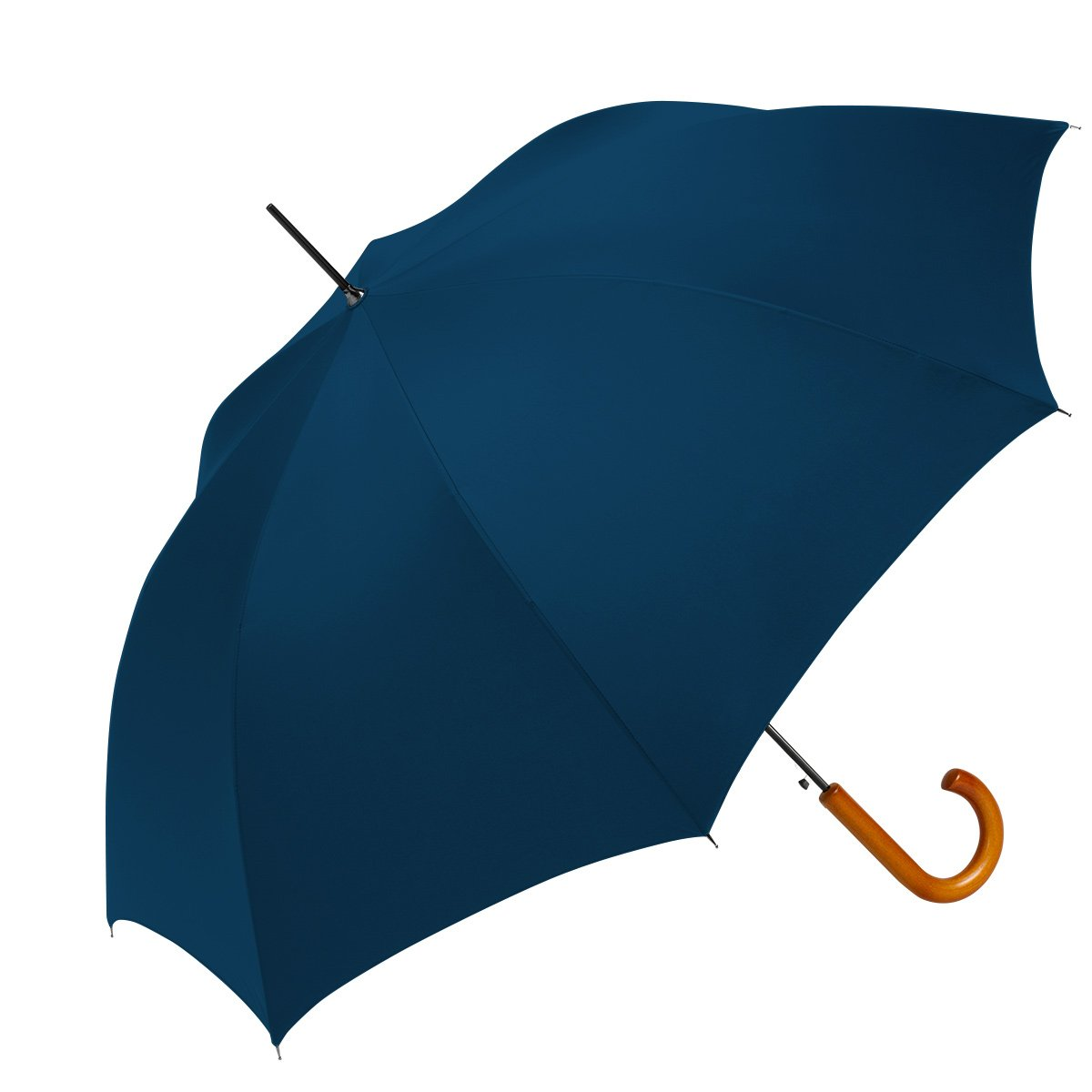 ShedRain® Auto Open Traditional Stick Umbrella: Navy Blue