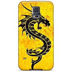 samsung galaxy s5 Personal cell phone skins Pretty phone Cases Covers Excellent Fitted dragon