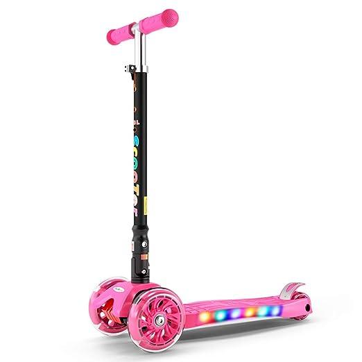 ZAQ - Patinete para niña, Color Rosa, para niños de 2 años y ...