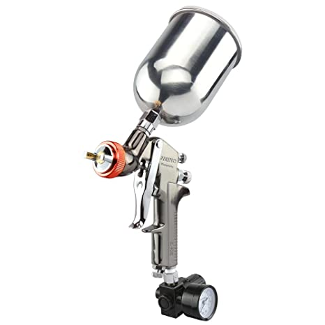 Neiko 31216a Hvlp Gravity Feed Air Spray Gun 2 0 Mm Nozzle Size 600 Cc Aluminum Cup 2 0 Mm Nozzle