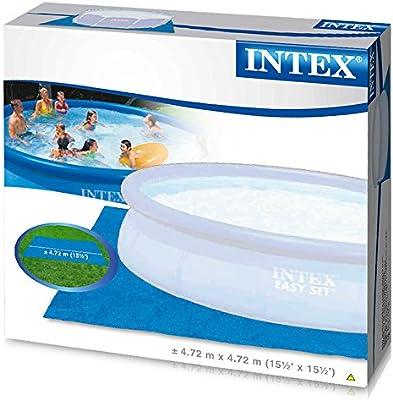 Intex 28048 - Tapiz 472 cm para piscinas de: 244, 305, 366 y 457 ...