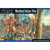 Black Powder Revolutionary War Native American Woodland Indians Tribe 1:56 Military Wargaming Plastic Model Kit