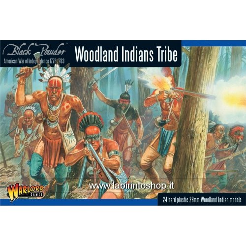 (Black Powder - American War Of Independence - Woodland Indians Tribe (28mm))