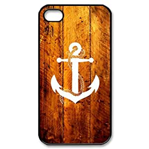 Custom Anchor Cover Case for iPhone 4 4s EQP-049