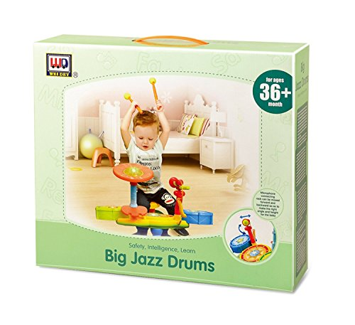 Electronic-Junior-Rock-Band-Baby-Learning-Musical-Drum-Set