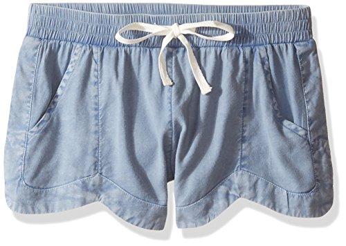 Girls Chambray Shorts (Billabong Girls' Big Mad for You Short, Chambray,)