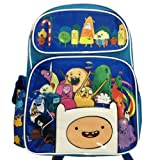 "Adventure Time - Finn's Big Team - 16"" New Large Backpack"