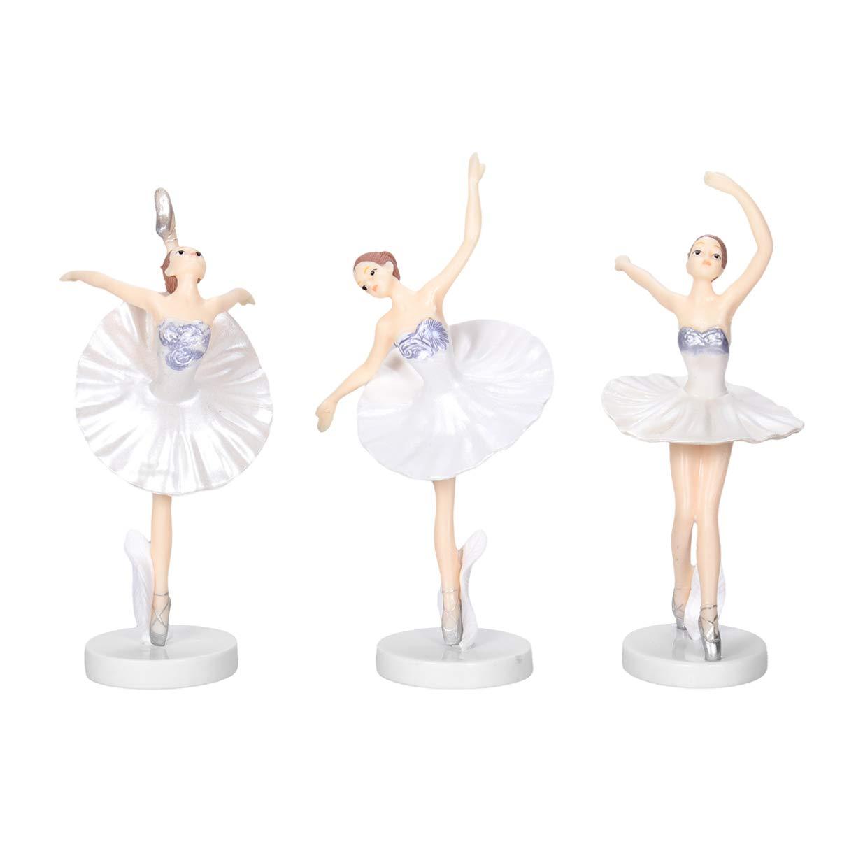 Garneck 3 Piezas Bailarina Bailarina de Ballet Estatua ...