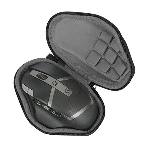 Mouse Case - Hard Travel Case for Logitech G602 Lag-Free Wireless Gaming Mouse by co2CREA