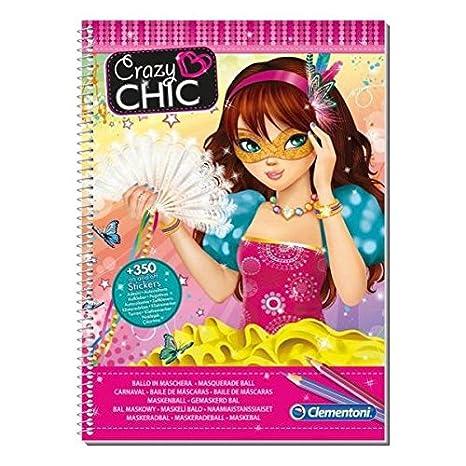 Clementoni Crazy Chic - Cindy carnaval, juego de pegatinas 15938 15938.3