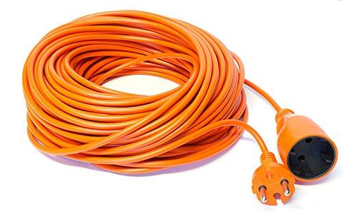37 opinioni per Cavo di prolunga per il giardino, 10-15-20-25-30-40-50m colore: arancione