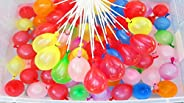 Water Balloons 15 Bunches 555 Instant Ballons self Sealing Fill Balloons Easy Quick Splash Fun Rapid-Filling S