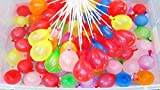 Water Bomb Balloon Set - 3 x 100 Pre-Packaged Rapid Fill Water Balloons - Self-Sealing - Suitable For Boys & Girls - Ideal For Practical Jokes, Pool & Summer Parties