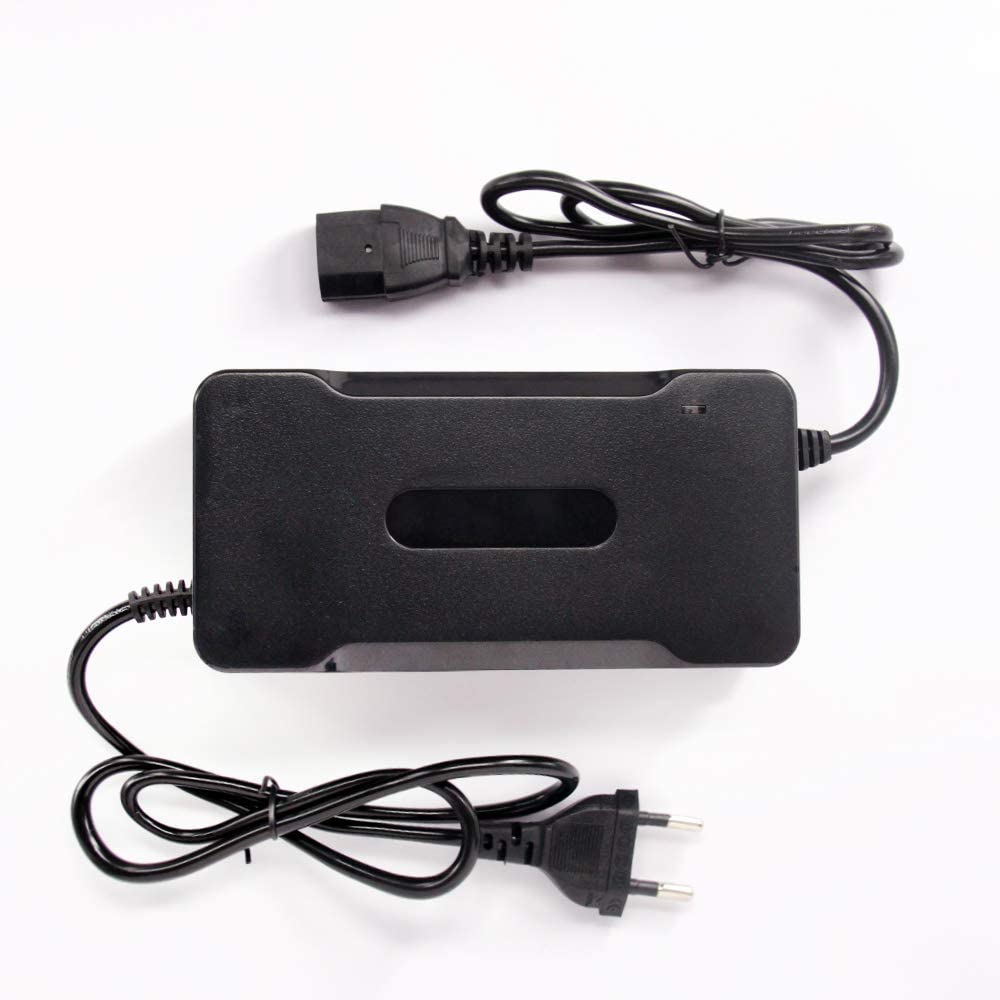 PMYZ - Cargador de batería de Litio para vehículos eléctricos de Bicicleta (84 V, 3 A, 72 V, 20 S, Li-Ion): Amazon.es: Coche y moto