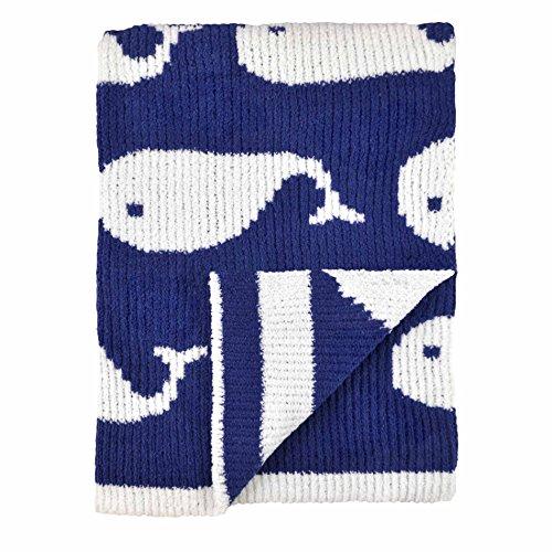 Just Born Sweater Knit Blanket, High Seas