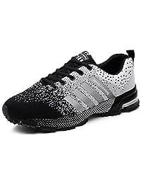 finest selection eb641 95cdb AIRAVATA Zapatillas de Deporte para Hombre y para Mujer Air Cushion  Zapatillas de Deporte Ligeras y