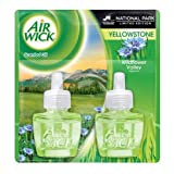 Air Wick Scented Oil Refill - Limited Edition Yellowstone National Park - Wildflower Valley - Twin Refill - 1.34 FL OZ - 1 EA